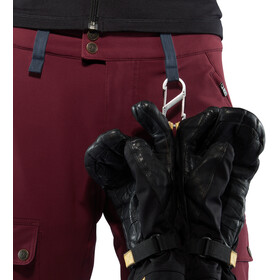 Fjällräven Keb Touring Hose Damen dark garnet-night sky